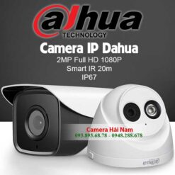 Trọn bộ 4 camera IP Dahua 2MP